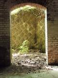 吉坂堡塁弾薬庫内部入口