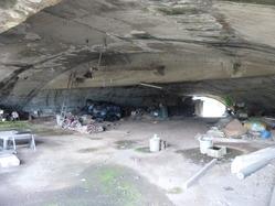 42北伊勢陸軍飛行場掩体壕内部