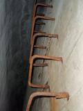 第三火薬廠覆土式火薬庫内部梯子