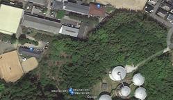 陸軍省所轄地境界石位置
