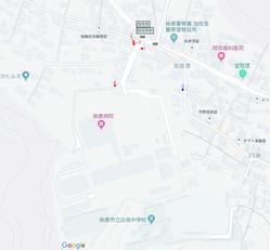 亀山陸軍病院境界杭位置