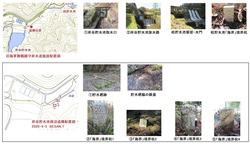 与保呂浄水場遺構配置図