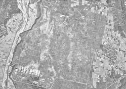 北伊勢陸軍飛行場航空写真