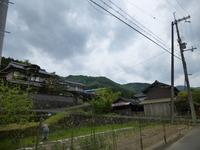 3中世観瀧寺跡遠景