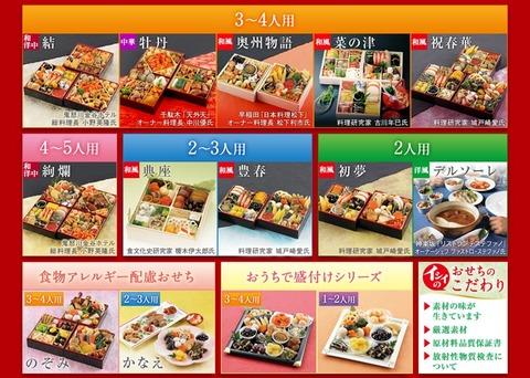 石井食品 2013おせち料理 7人の食の達人計14種
