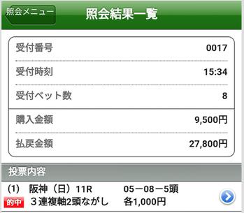 大阪杯は3連複5点本線ズバリやでぇ〜 【大口春競馬】スタート