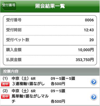 キタ〜ッ!!【大口真冬競馬】◉9人気からダブル超万馬券ゲットで35万超え回収やがなww