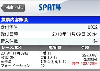 船橋最終日 3連単10点→510倍ズバリでフィニッシュww
