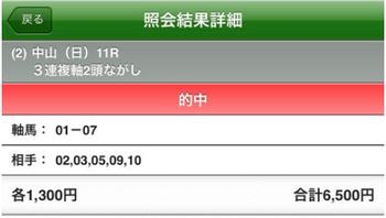 阪急敗(杯)ww 中山記念は3連複4点ズバリw