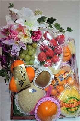 お通夜の果物籠_R