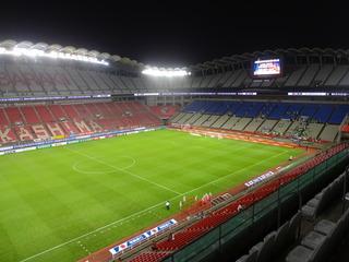 立派なスタジアムです