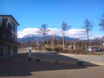 野辺山駅からの眺め