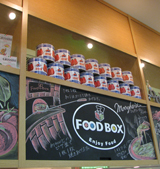 FOOD BOX 看板