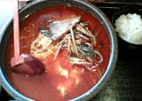 松香亭 スタミナピリ辛麺(3辛)
