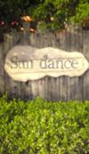 Sun dance plate