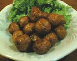 松香亭 肉団子