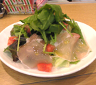 FOOD BOX 国産生ハムとサラダほうれん草のサラダ