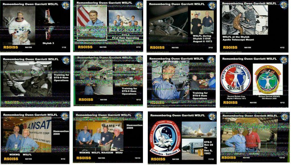 ARISS SSTVイベント終了!(ISS SSTV) : KG-ACARS HFDL VDL MCAに感謝