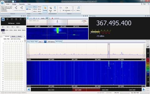 SDRradio RTLUSB 起動②