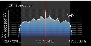 IF Spectrum フィルター微調整