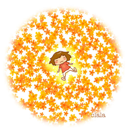 お花さん<1>