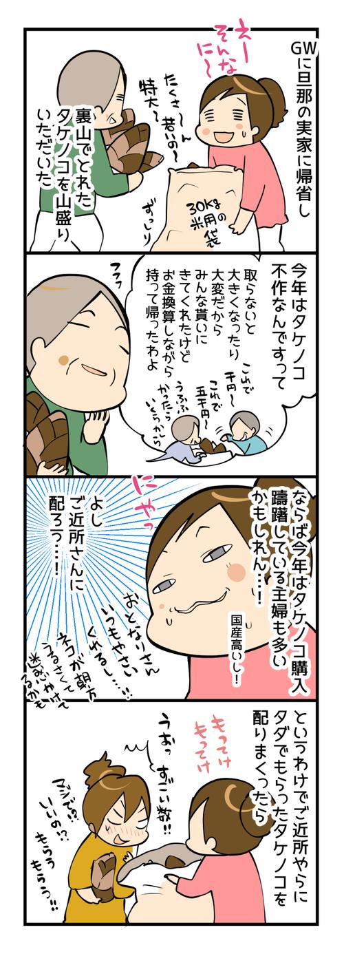 タケノコ夫人1