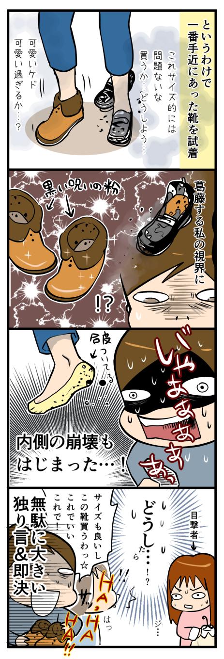 靴が壊れた4