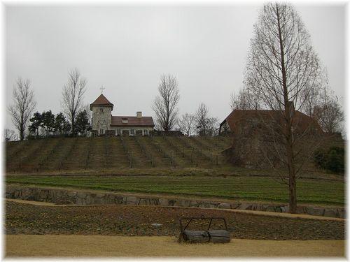 ドイツの農園風景