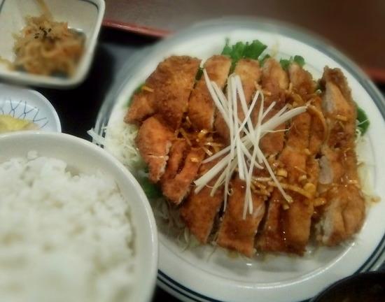 171225tt_鶏あじ定食@みよし食堂