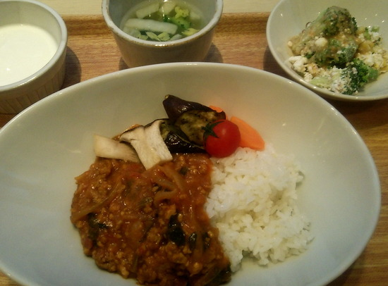 180316t_野菜カレー定食@タニタ食堂