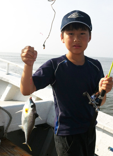 夏休み 五目釣り