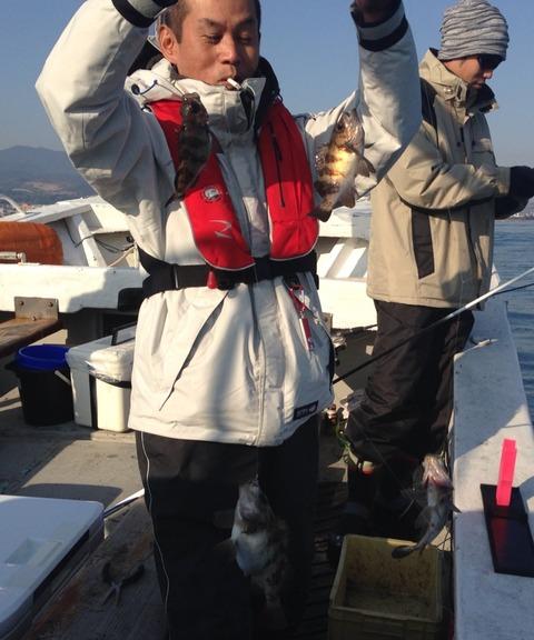 有明海メバル釣り