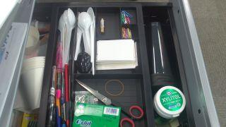 Inside Desk Drawer