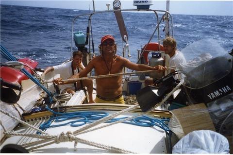 Carlos sails, Panama (Medium) (Small)