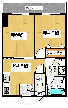 新築☆仲程アパートメント (5号室)