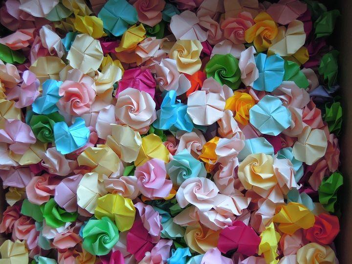 すべての折り紙 折り紙 飾り付け : 画像 : 【結婚式】手作り ...