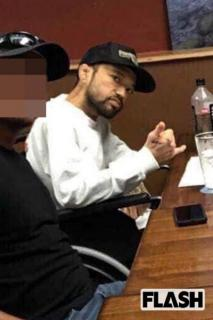"""グアムでガン闘病中「山本""""KID""""徳郁」の車椅子写真"""