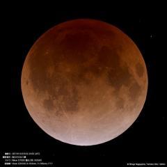 今宵の月は血の色に染まる!スーパー・ブルーブラッド・ムーン