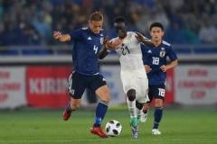 「日本はボールを持っているが、ほとんど何もしていない」 ポゼッション率は増えてもガーナに完敗