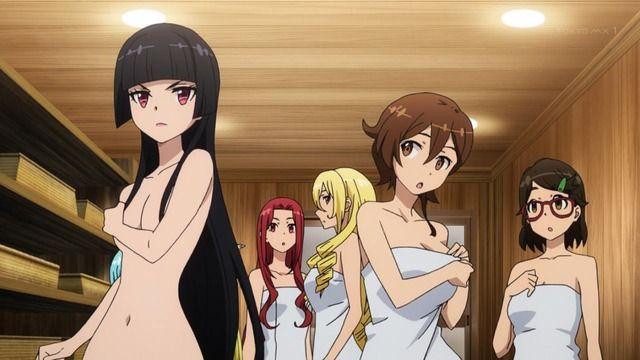 ■アニメの美女・美少女達が温泉に入る温泉回の画像を集めてみた GATE 自衛隊など