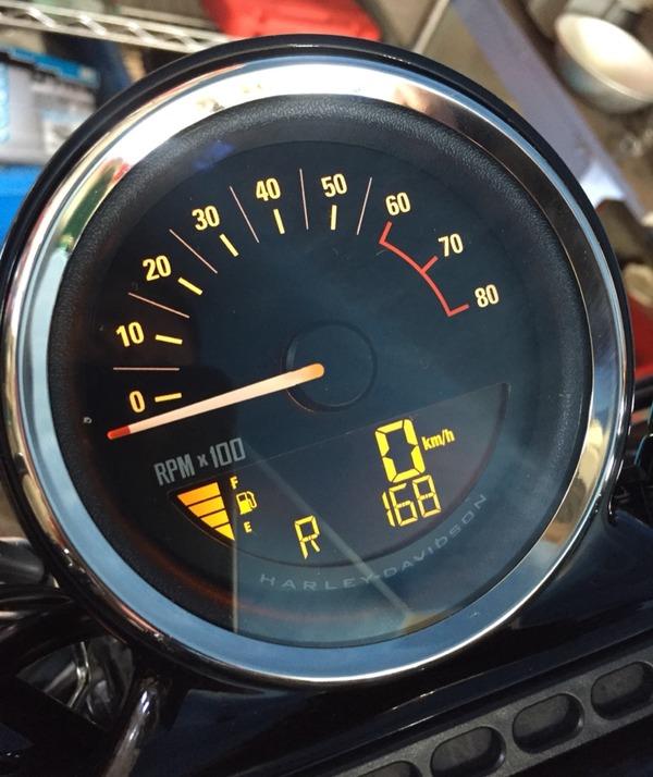 XL1200CX燃料メーター