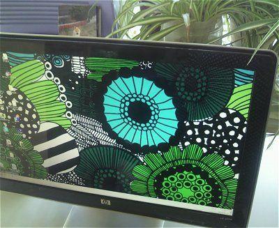 のほほん パソコン画面