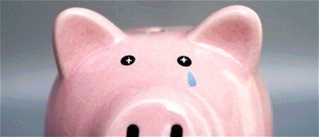 のほほん 豚の貯金箱