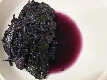 赤紫蘇の塩漬け