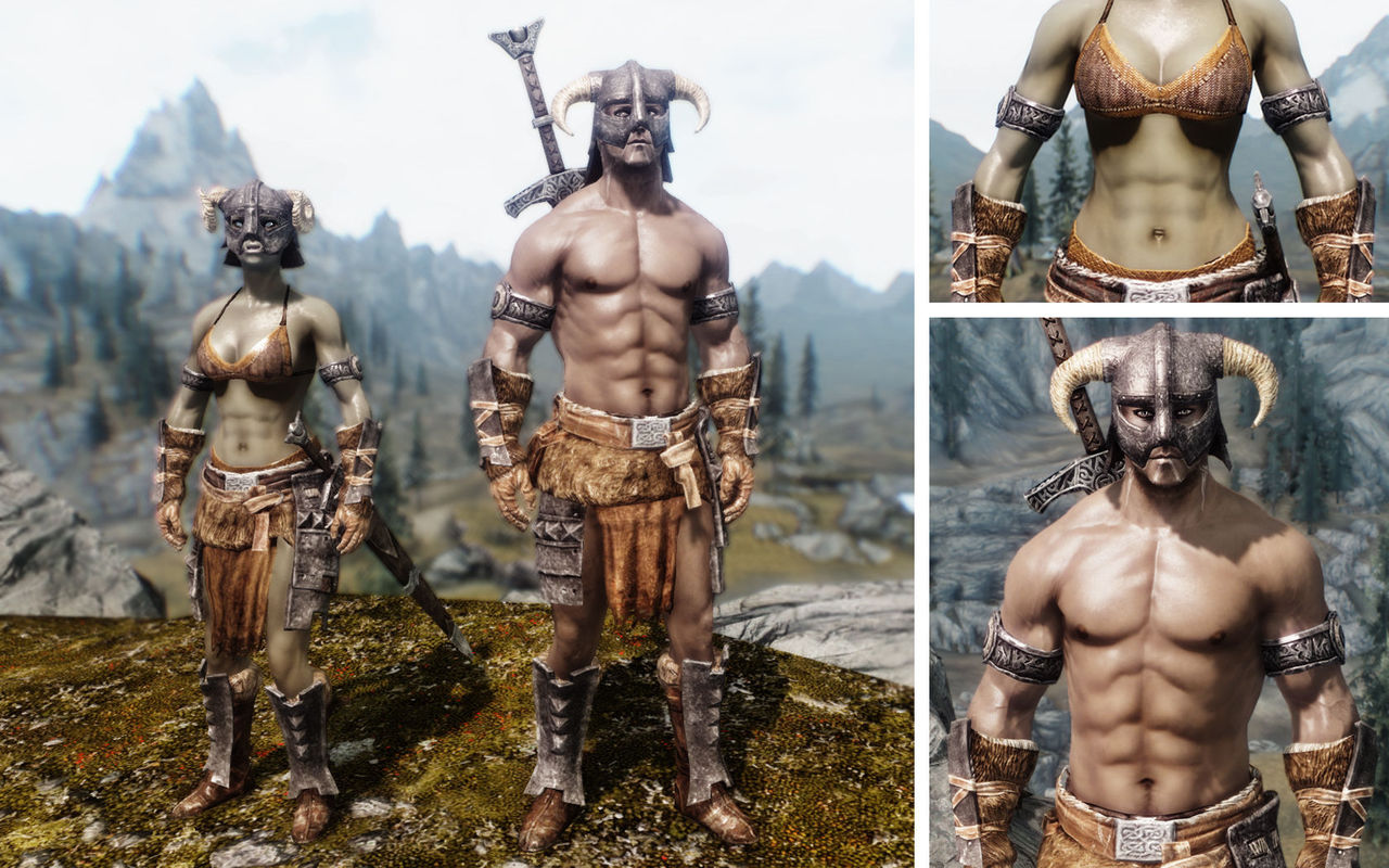 tribal skyrim tattoos Dragon Unp Mod 紹介 Armors 226 Khaleesi Skyrim Immersive Tattoos