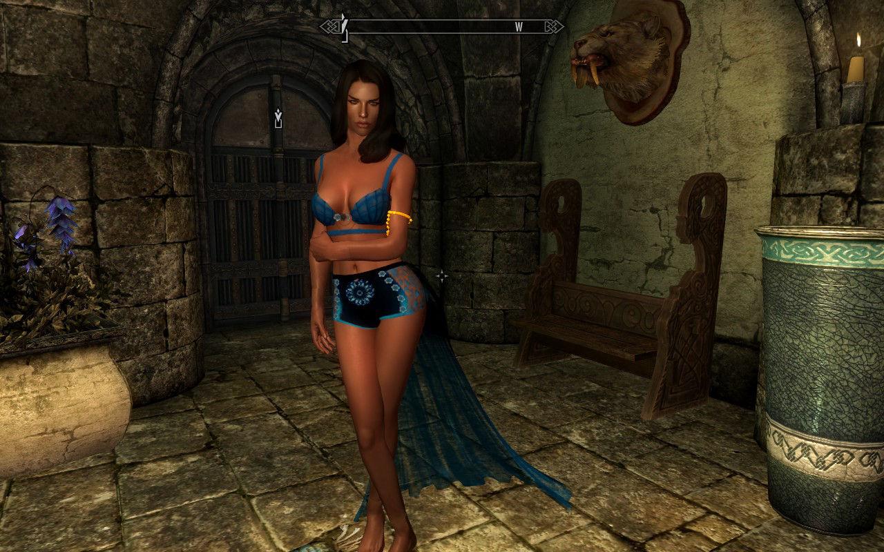 Mod skyrim body female