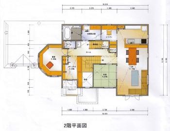 2nd平面図②