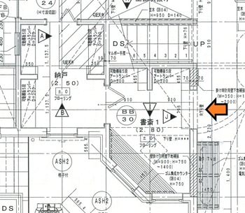 ②平面図 1階3