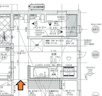 ②平面図 1階1-1