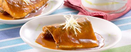 鯖のカルピス味噌煮